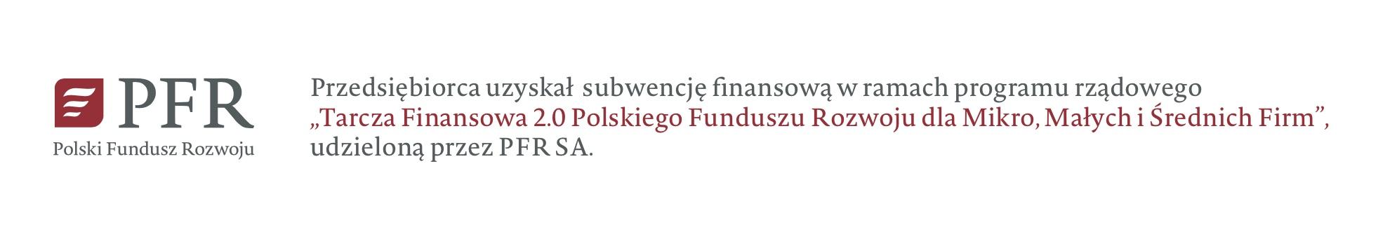 Wsparcie z Polskiego Fundusz Rozwoju